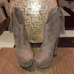 C Label Suede platform Shoes